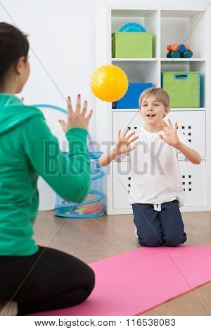 It's Time For Play After Hard Exercises