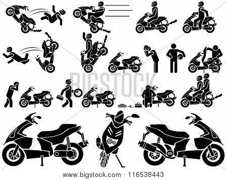 Icon Man Biker