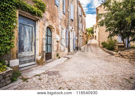 French Village Street view