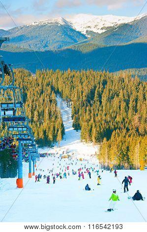 Mountains Ski Resort