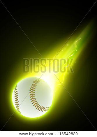 vector baseball illustration