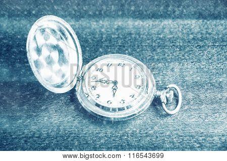 pocket watch. vintage artifact