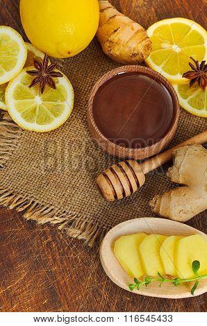 Ginger tea ingredients