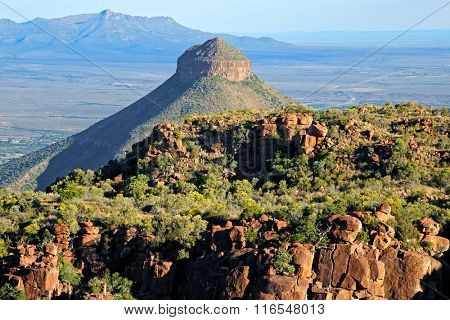 Valley of desolation, Camdeboo National Park, South Africa