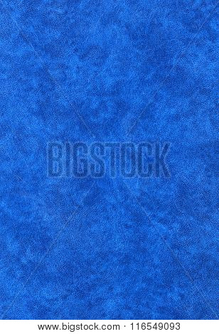 blue leatherette surface useful as a background