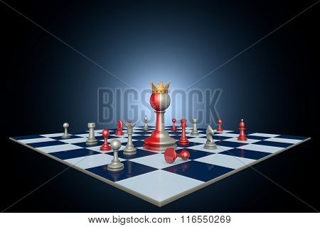 Successful Political Career (chess Metaphor)