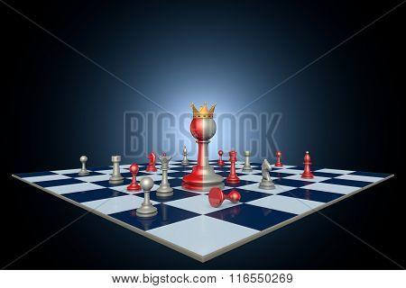 Successful Political Career (chess Metaphor)