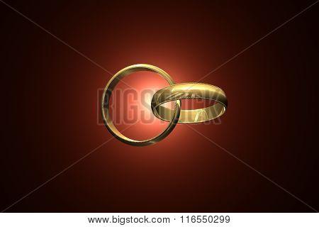 Together Forever. Wedding rings...