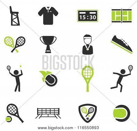 Tennis simply icons