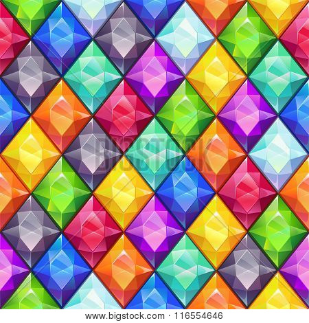 Cool bright colorful seamless pattern