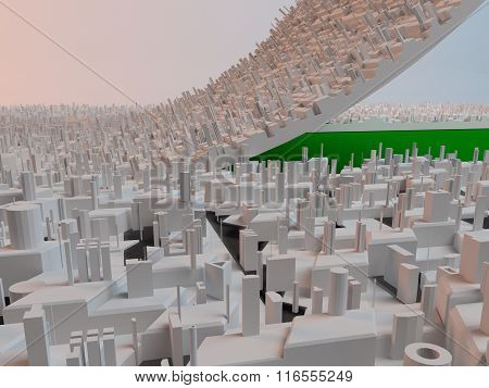 Urban development, make more green