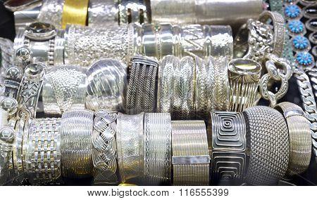 Bracelets from silver
