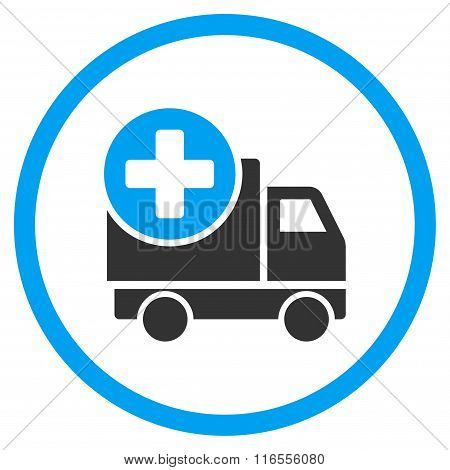 Medical Delivery Rounded Icon
