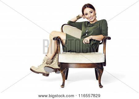 Relax On An Armchair