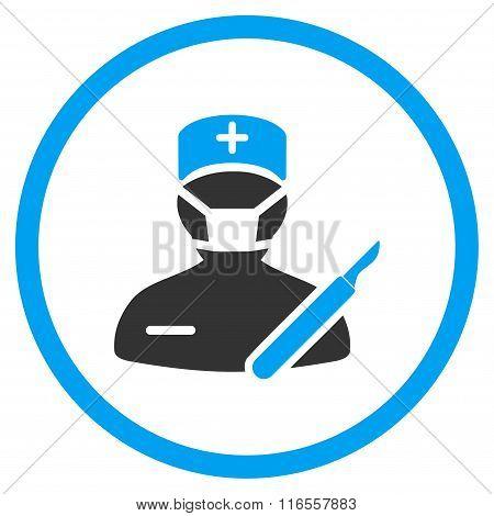 Surgeon Rounded Icon