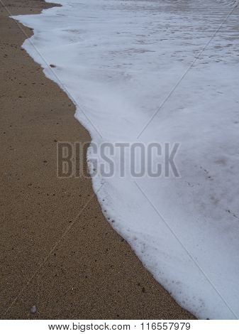 Beach Foam Wave