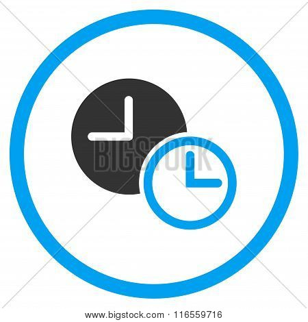 Clocks Rounded Icon
