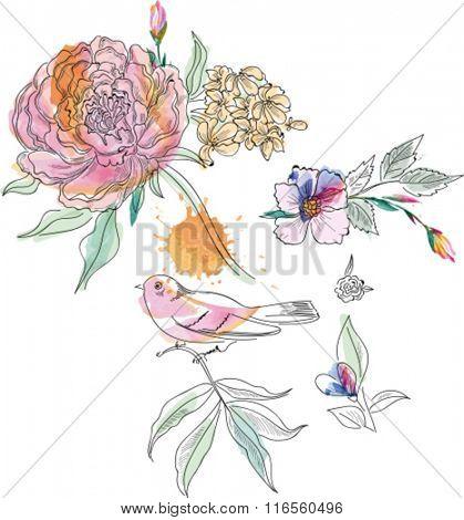 Flower elements