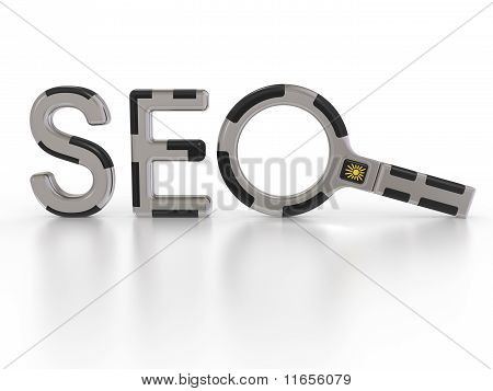 Seo Search Concept