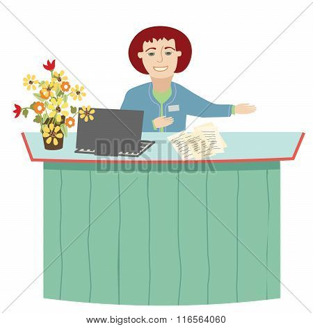 The Receptionist.eps