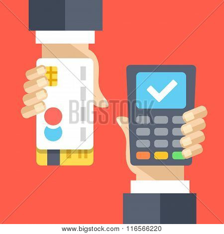 Successful payment via payment processing system