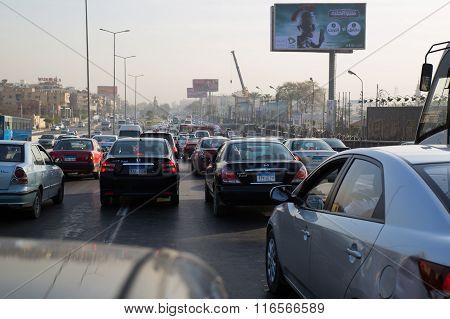 Cairo's Morning Traffic