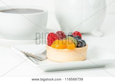 Colorful Fruit Tart