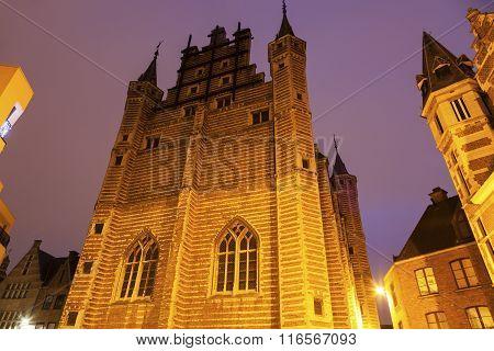 The Butcher's Hall In Antwerp