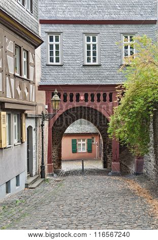 Main Gate in Frankfurt Hoechst