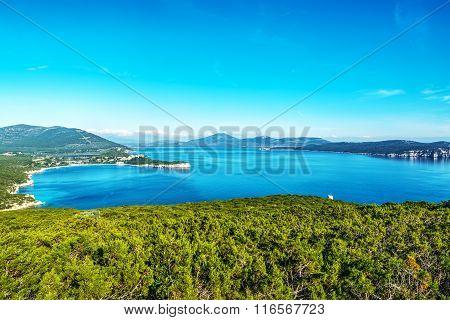 Blue Sky Over Capo Caccia