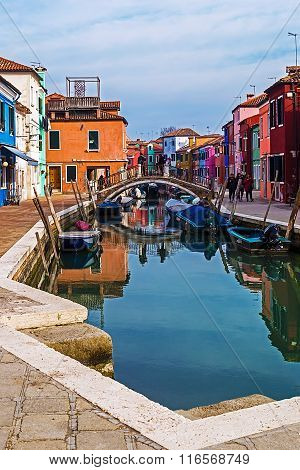 View Of Burano, Italy 2