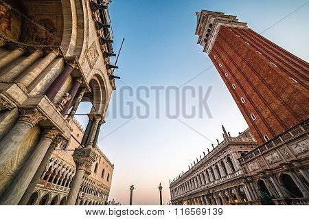 Fish-eye View Of San Marco Square In Venice, Italy 8