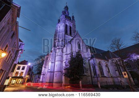 St. Martin's Church In Kortrijk