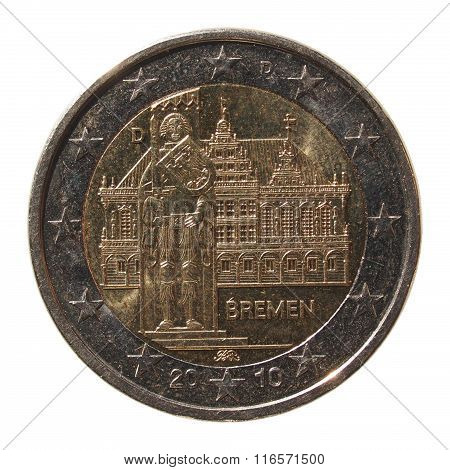 2 Euro Coin From Germany
