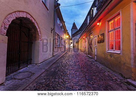 Tallin Old Town Streets