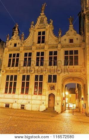 Blinde-ezelstraat From Burg Square