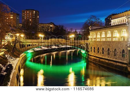 Bridges On Ljubljanica River