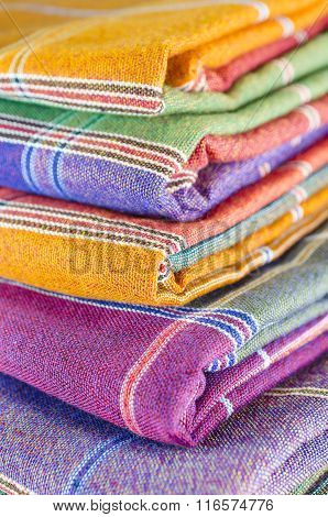 Sarong fabric for pattern background