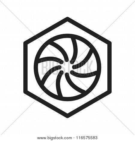 Hexagonal Diaphram
