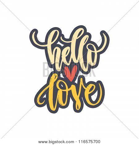 Handdrawn Romantic Poster