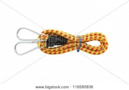 Elastic Rope On White