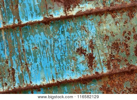 rust on metal