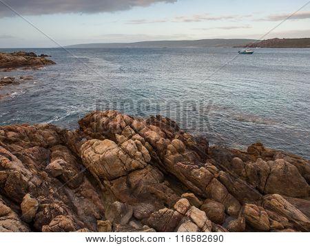 Rocky coastline, Western Australia