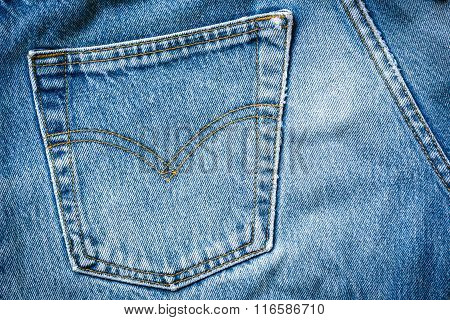 Jeans Bag Texture Background