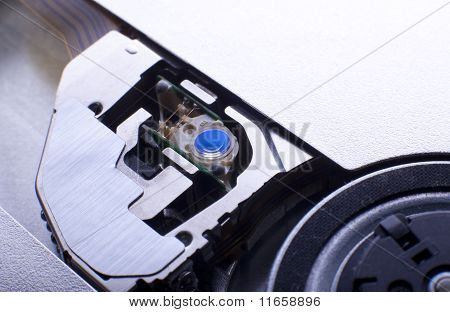 blue lens in dvd drive