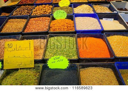 Spices On Sale In The Market