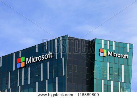 Microsoft logo and emblem