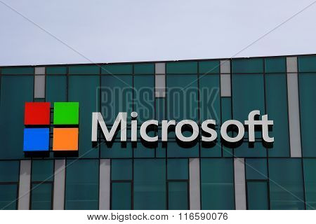 Microsoft logo and emblem