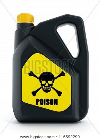 Poison Plastic Can