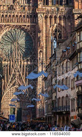 Rue Merciere In Strasbourg
